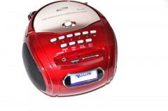 Радио бумбокс колонка с караоке MP3 USB Golon RX 186 Red