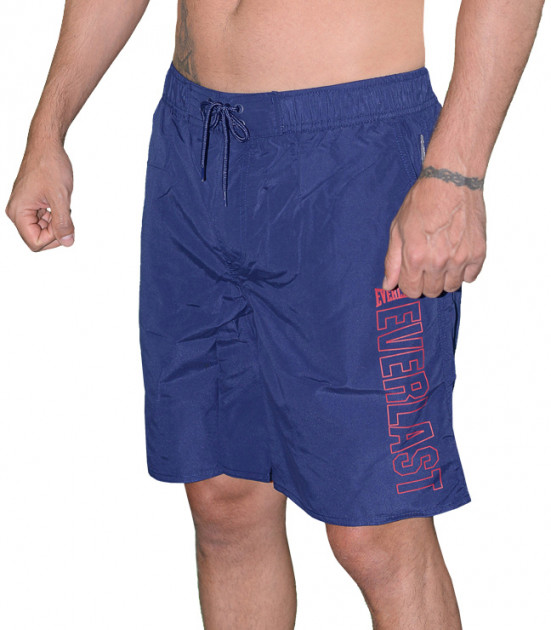 Шорты пляжные Everlast Mens Swim Short With Contrast Print On Leg EVR9925 M Темно-синие (0659153886933) - изображение 1