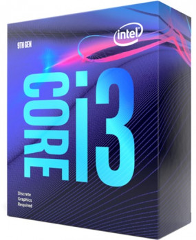 Процесор Intel Core i3-9100F 3.6GHz/8GT/s/6MB (BX80684I39100F) s1151 BOX