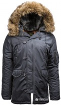 Парка Alpha Industries Slim Fit N-3B Parka XS Steel Blue - изображение 1