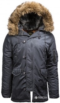 Парка Alpha Industries Slim Fit N-3B Parka M Steel Blue