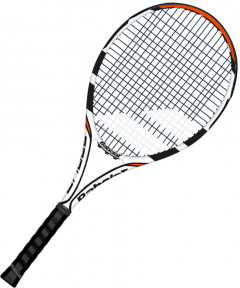 Ракетка Babolat Eagle Gr1 White/Black (170396/147-1)