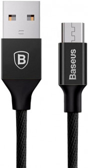 Кабель Baseus Yiven Cable for Micro 1 м Black (CAMYW-A01)