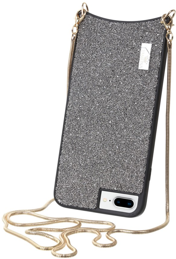 Чехол-сумка BeCover Glitter для Apple iPhone 6 Plus/6s Plus/7 Plus/8 Plus Silver