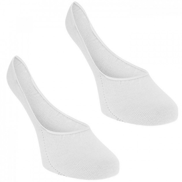 Носки Tommy Hilfiger Invisible 2 Pack White, 36-42 (10102588) - изображение 1