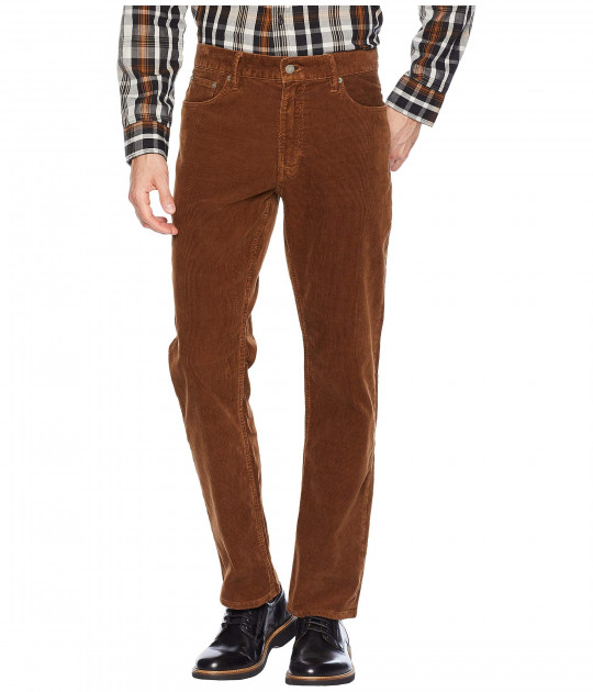 Брюки Polo Ralph Lauren Washed Stretch Corduroy Prospect Pants Brown, 36W R (10156137)