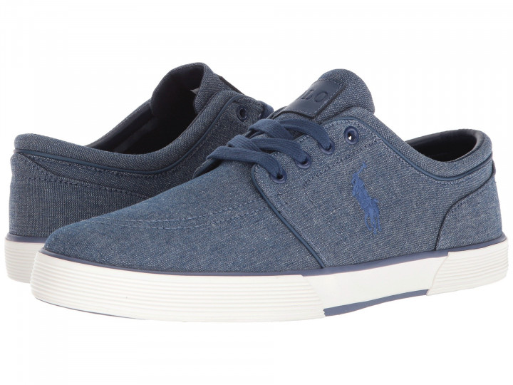 Кеды Polo Ralph Lauren Faxon Low Blue, 46 (315 мм) (10130037) - изображение 1