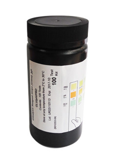 Тест-полоски для анализа мочи на 11 параметров Urinalysis Reagent Strips, №100, Hangzhou AllTest Biotech Co., Ltd.