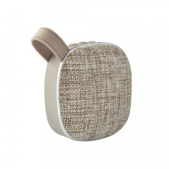 Портативна Bluetooth колонка SUNROZ Fabric Mini Speaker 3W Сірий (SUN4262)