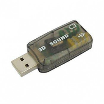 Звуковая карта ATcom USB-sound Card 5.1 3D Sound