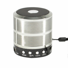 Wiss WS-887 Mid Bluetooth Speaker Silver (PBS-000025)