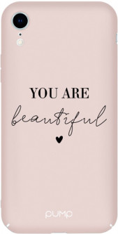 Панель Pump Tender Touch Case для Apple iPhone Xr You Are Beautiful (PMTTXR-13/128)