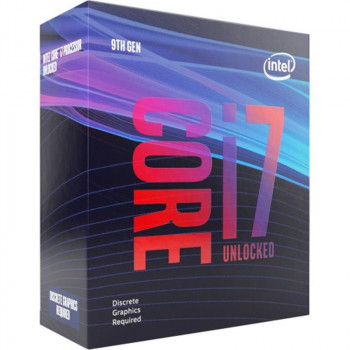 Процесор Intel Core i7 9700KF 3.6 GHz (12MB, Coffee Lake, 95W, S1151) Box (BX80684I79700KF)