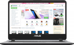 Ноутбук Asus X407UA-EK740 (90NB0HP1-M11750) Grey