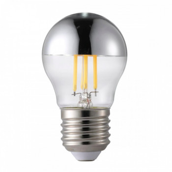 Светодиодная лампа Nordlux Bulb E27 4.8W Top Silver Filament Dimmable (1502670)