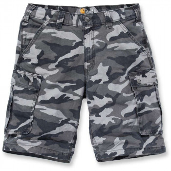 Шорти Carhartt Rugged Cargo Camo Short - 100279 Rugged Gray Camo