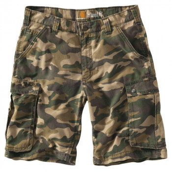 Шорти Carhartt Rugged Cargo Camo Short - 100279 Rugged Khaki Camo