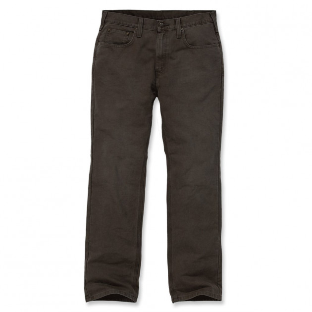 Штаны Carhartt Weathered Duck 5 Pocket Pant - 100096 (Dark Coffee, W32/L32)
