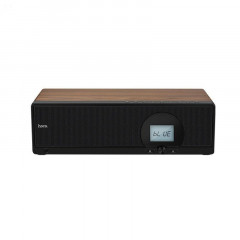 Колонка портативная Hoco BS13 cobalt wooden tabletop wireless speaker Bluetooth 30 Вт Black (38-SAN180)