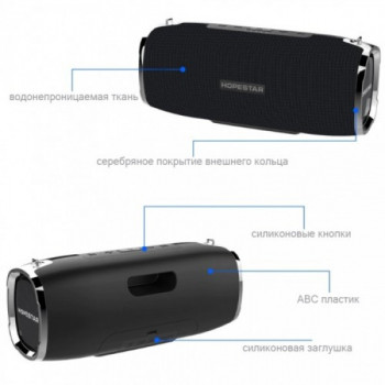 Портативная bluetooth колонка Hopestar Sound System A6 PLUS