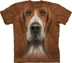 Футболка The Mountain Basset Hound Head M Коричневый (103607)