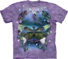 Футболка The Mountain Dragonfly Dreamcatcher L Сиреневый (103397)