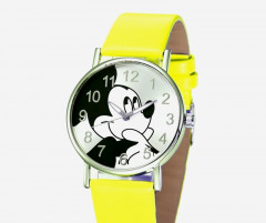 Детские часы Kezzi Mickey Mouse желтые