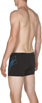 Плавки Arena M Bayron Short 001774-581 Black/Pix Blue