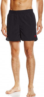 Шорты пляжные Arena Fundamentals Sides Vent Boxer 43628-054 XL Black/Shinyred (3468334634853)