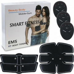 Миостимулятор EMS-Trainer. Тренажер для пресса Smart Fitness. EMS Fit Boot Toning