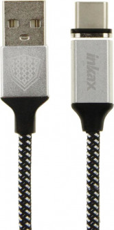 Кабель INKAX CK-50 Type C cable 1m Black