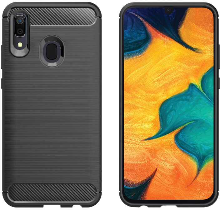 Панель GlobalCase Leo для Samsung Galaxy A30 Black