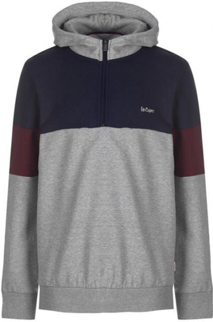 Худи Lee Cooper 532585-25 S Grey Marl