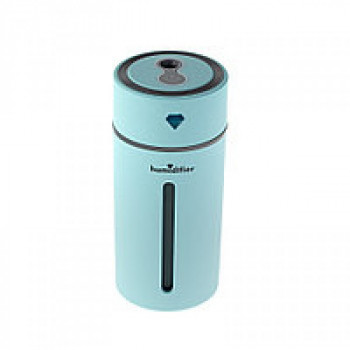 Зволожувач - диффузер і нічник 2 в 1 Diamond Cup Humidifier Blue (B-8951)