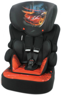 Автокресло Bertoni (Lorelli) X-Drive+ 9-36 кг Black Fiery Race (X-DRIVE+-black fiery rac) (3800151971658)