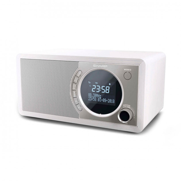 SHARP Digital Radio White (DR-450(WH)) - изображение 1