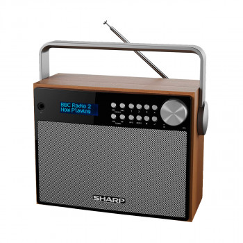 SHARP Portable DAB Radio (DR-P350)