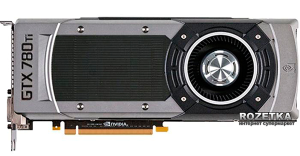 MSI PCI-Ex GeForce GTX 780 Ti 3072MB GDDR5 (384bit) (876/7000) (2 x DVI, HDMI, DisplayPort) (GTX 780Ti 3GD5)