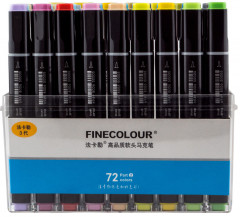 Набор маркеров Finecolour Brush 72 цвета (EF102-TB72)