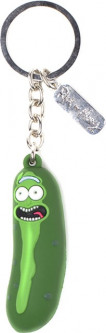 Брелок Difuzed Rick & Morty - Pickled Rick 3D Rubber Keychain (KE851414RMT)