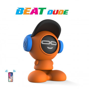 Портативна Bluetooth-колонка IDance Beat Dude 10W Помаранчева (BD10OR)