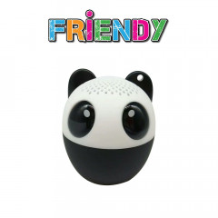 Портативная Bluetooth-колонка iDance Friendy 3W Panda (AS100-PANDA)