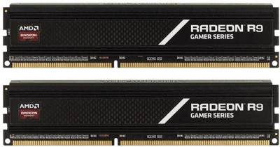 Оперативна пам'ять AMD DDR4-3200 16384MB PC4-25600 (Kit of 2x8192) R9 Gamer Series (R9S416G3206U2K)