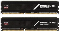 Оперативная память AMD DDR4-3000 8192MB PC4-24000 (Kit of 2x4096) R9 Gamer Series (R9S48G3000U1K)