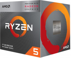 Процессор AMD Ryzen 5 3400G 3.7GHz/4MB (YD3400C5FHBOX) sAM4 BOX
