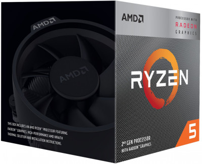 Процесор AMD Ryzen 5 3400G 3.7GHz / 4MB (YD3400C5FHBOX) sAM4 BOX