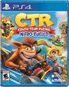 Игра Crash Team Racing для PS4 (Blu-ray диск, English version)