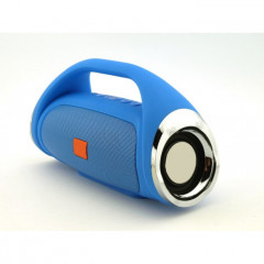 Портативная bluetooth колонка HORTON Boombox mini Blue Синяя FM MP3 microSD/TF и USB 45616