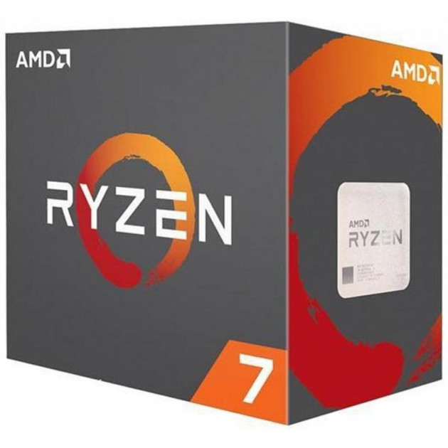 Процессор AMD Ryzen 7 2700 (3.2GHz 16MB 65W AM4) Box (YD2700BBAFBOX) - изображение 1