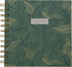 Блокнот Home & Styling Collection 16х16 см 150 листов (MC1700120_leaves)